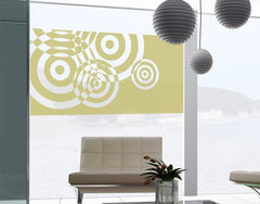 Circles-Window Decals-Style and Apply