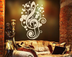 Clef-Wall Decals-Style and Apply