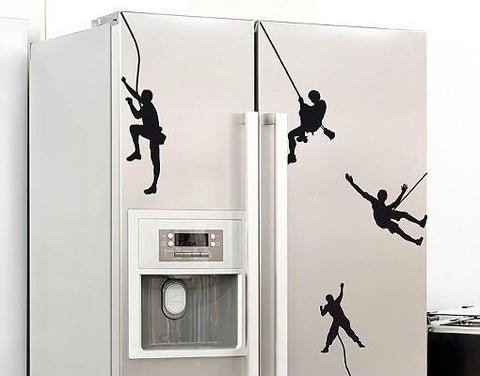 Climber-Wall Decals-Style and Apply