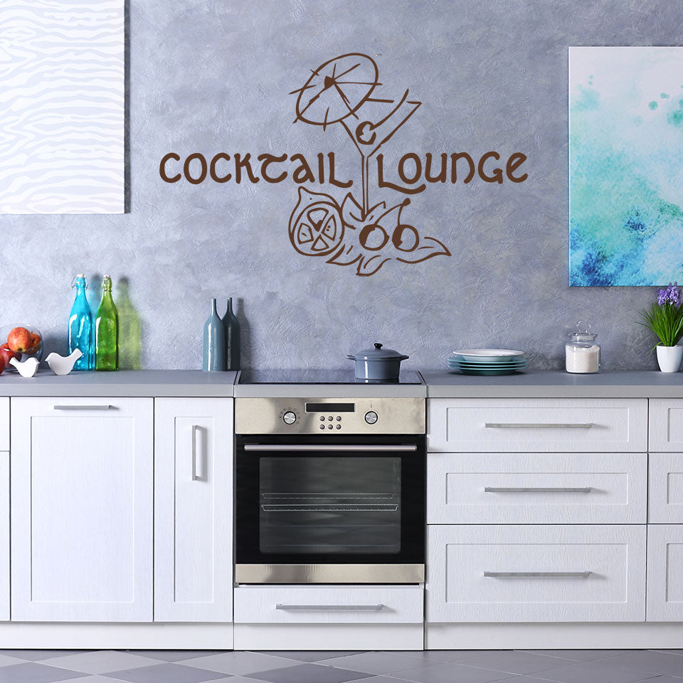 Cocktail Lounge-Wall Decal