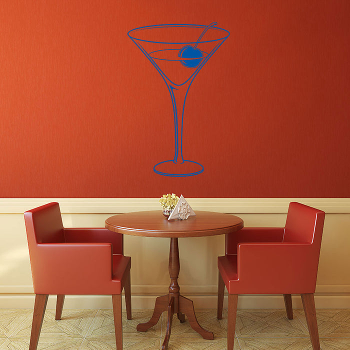 Cocktail Wall Decal