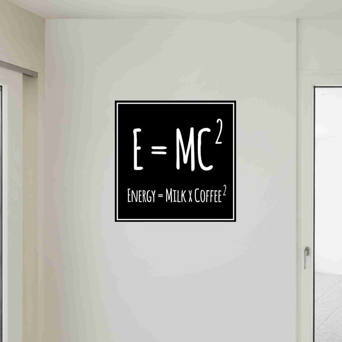 Coffee, Milk and Energy Wall Decals
