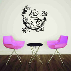 Coffee Pleasure Wall Decal-Wall Decals-Style and Apply