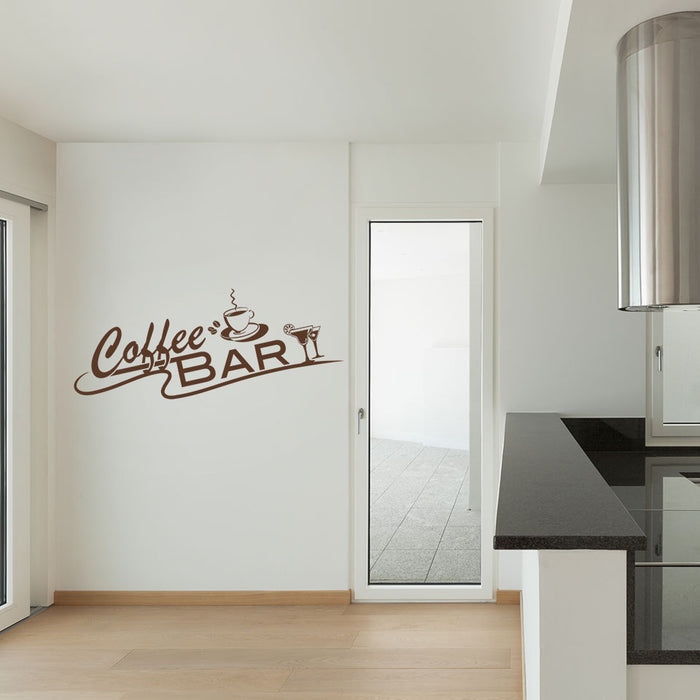 Coffee Break Wall Decal