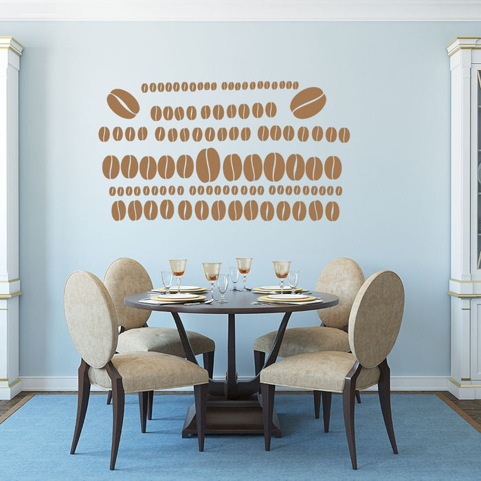 Coffee Bean Set highest quality wall decal stickers