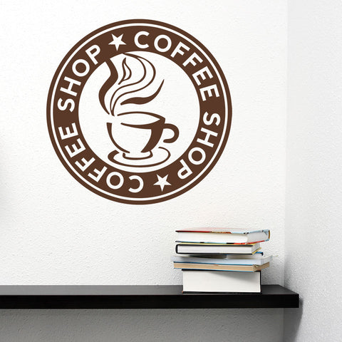 Coffee Store-Wall Decal