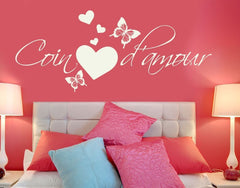 Coin d'Amour Wall Decal-Wall Decals-Style and Apply