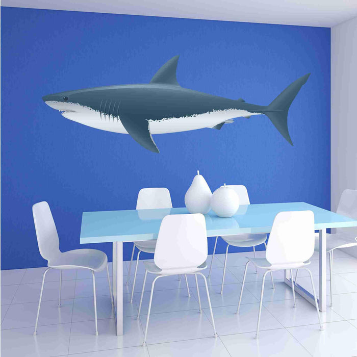 Colorful Shark Wall Sticker