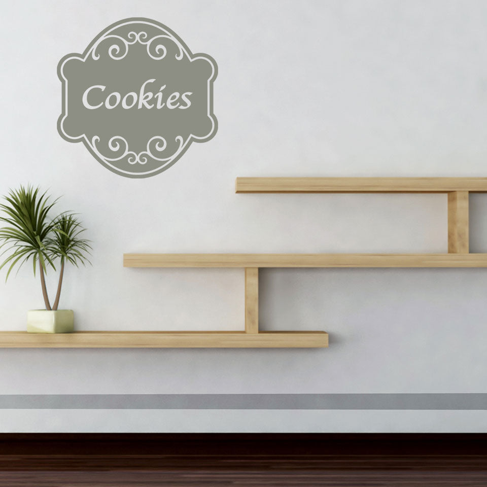 Cookies Sign Wall Decal