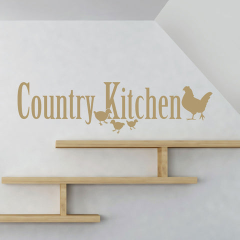Country Kitchen-Wall Decal