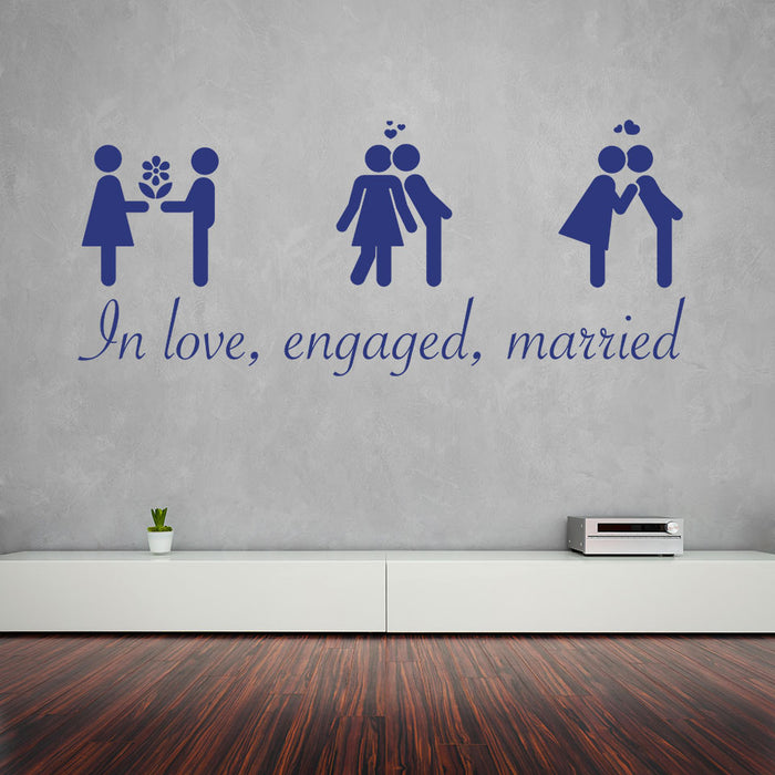 Chronicle Of Love Wall Decal