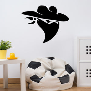 Cowboy Bandit Wall Decal-Wall Decals-Style and Apply