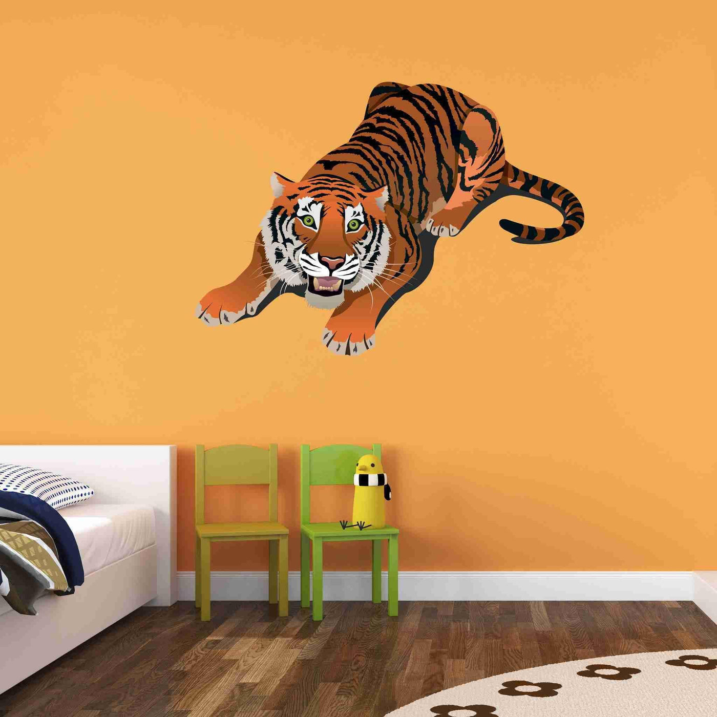 Crouching Tiger Wall Stickers Style And Apply
