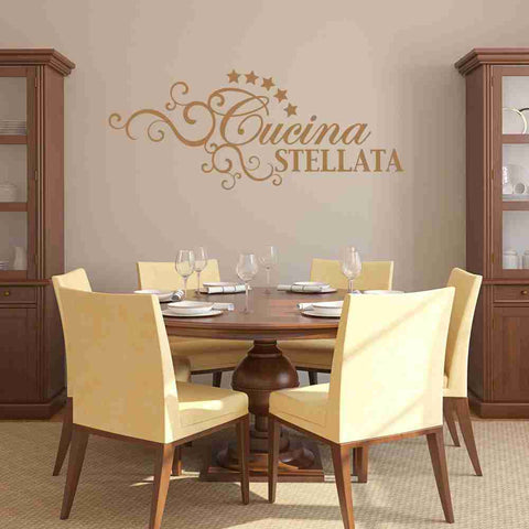 Cucina Stellata Wall Decal-Wall Decals-Style and Apply