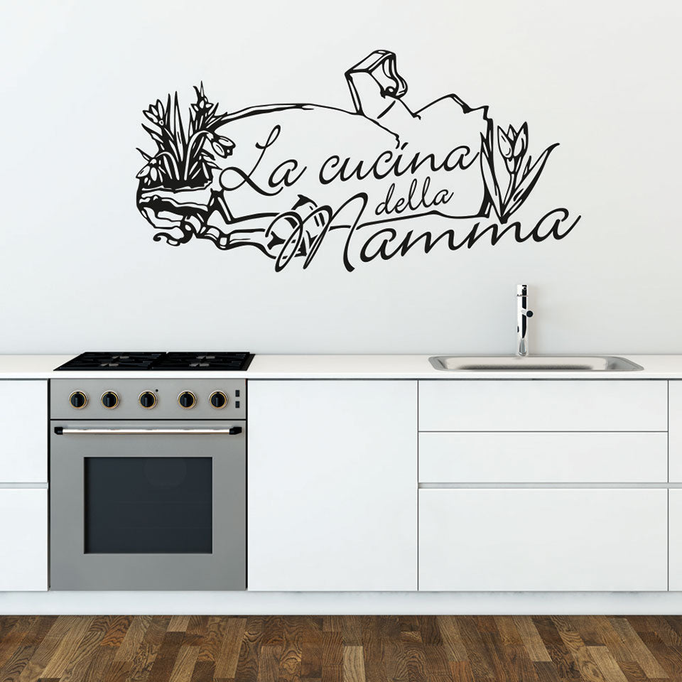 Cucina Della Mamma Wall Decal – Style and Apply