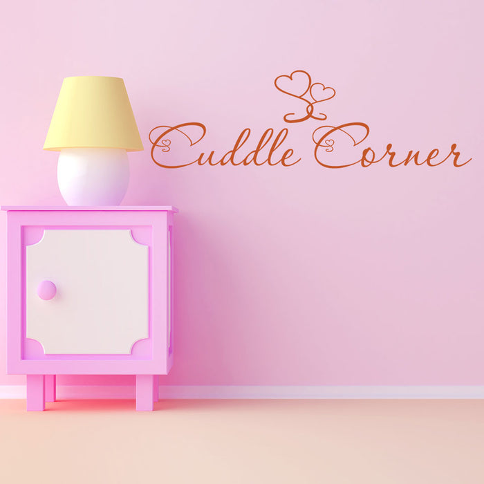 Cuddle Corner Wall Decal