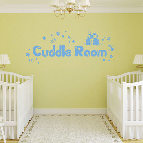 Cuddle Room-Wall Decals-Style and Apply