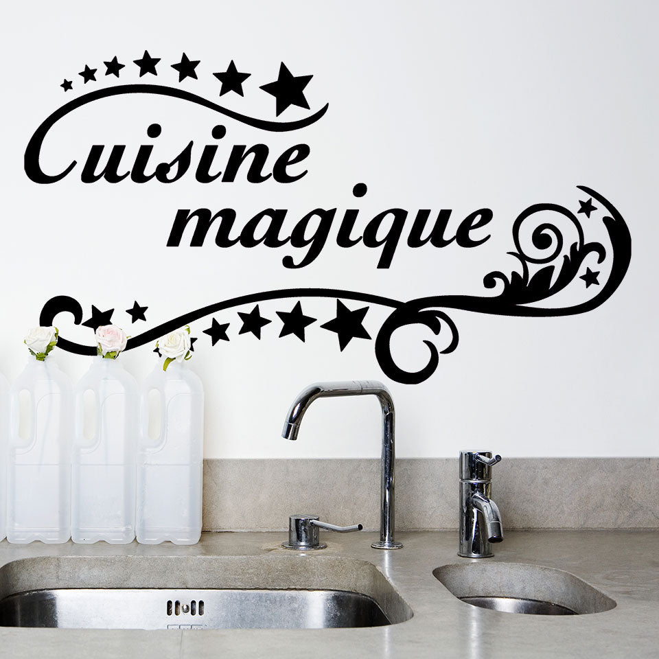 Cuisine Magique Wall Decal