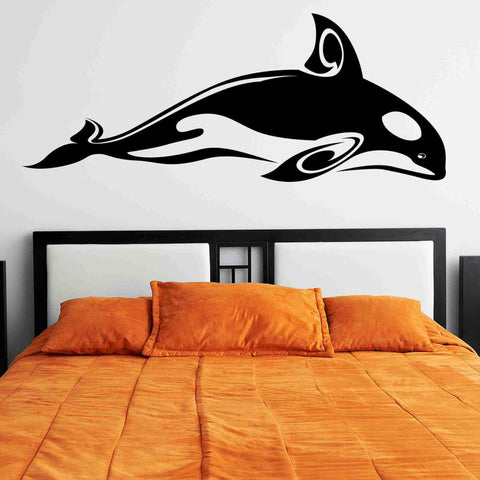 Cute Orca Wall Stickers