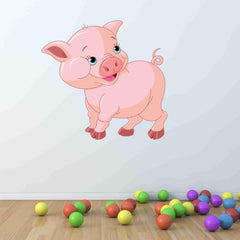 Cute Piglet Wall Stickers
