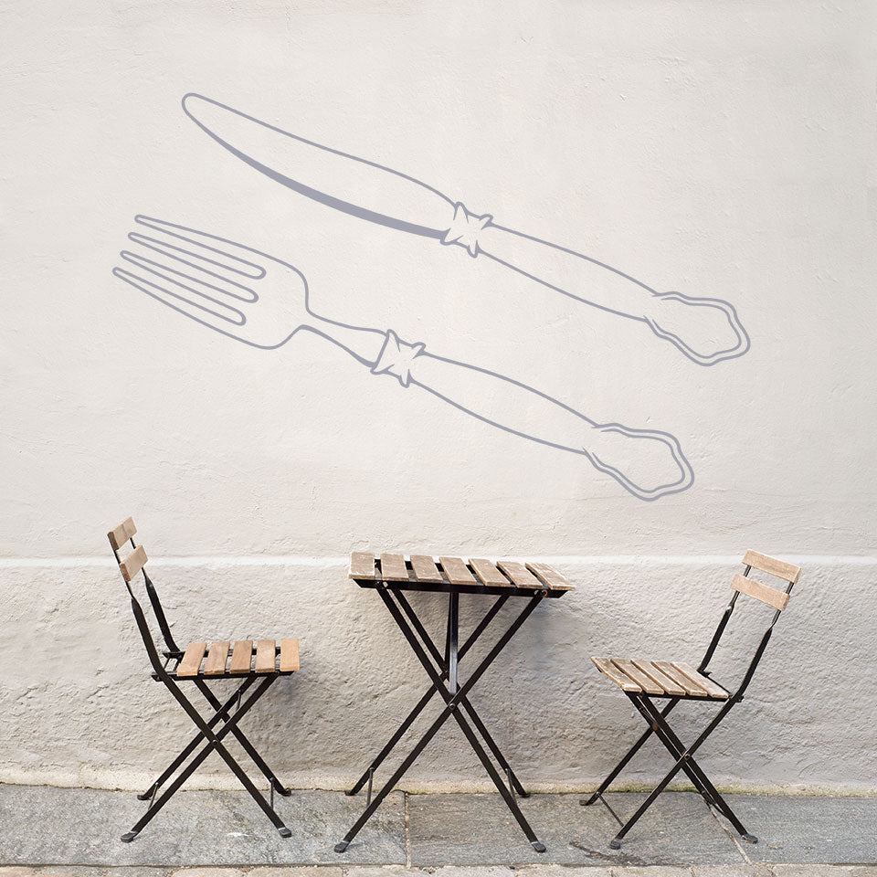 Cutlery Decal