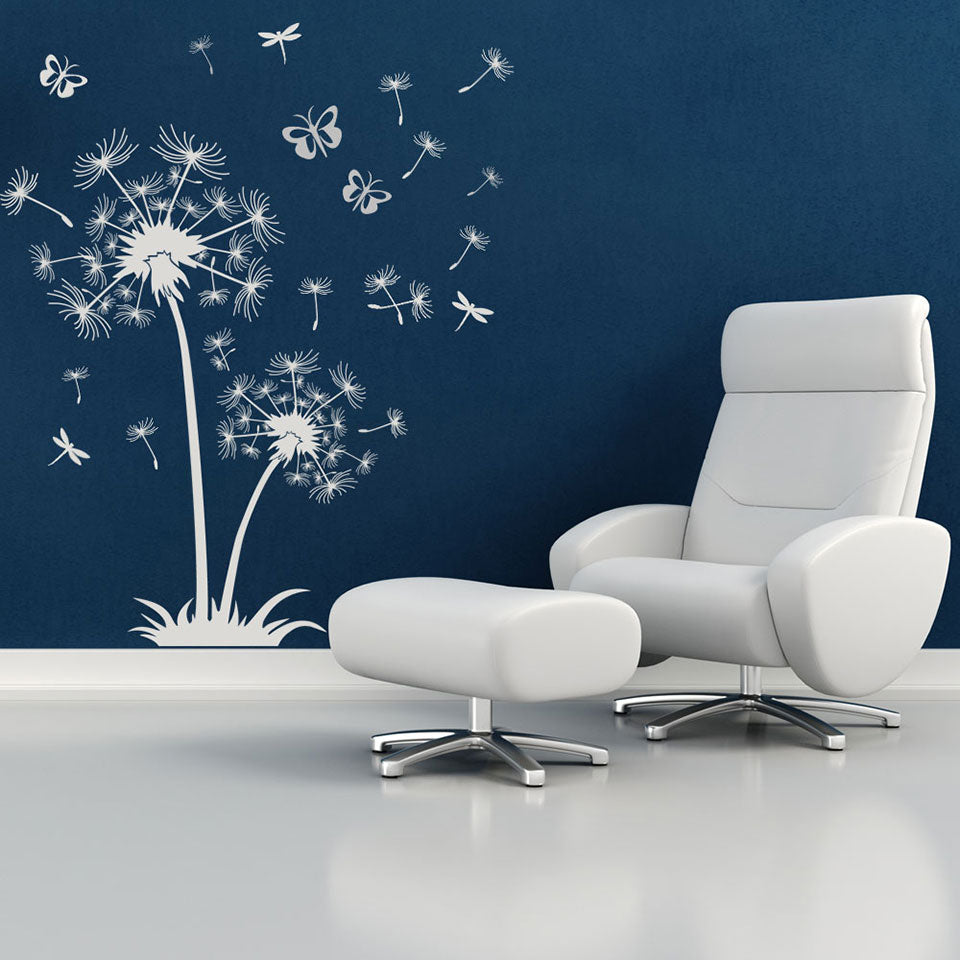 Dandelion de Luxe Wall Decal