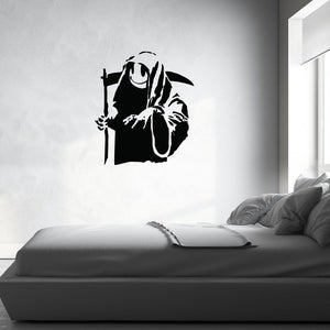 Death And All His Friends Banksy Wall Decal-Wall Decals-Style and Apply