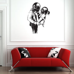 Deep Love Banksy Wall Decal-Wall Decals-Style and Apply