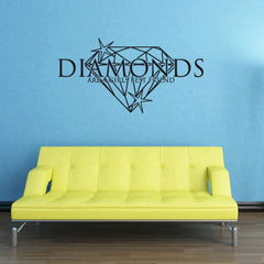 Diamonds-Wall Decal