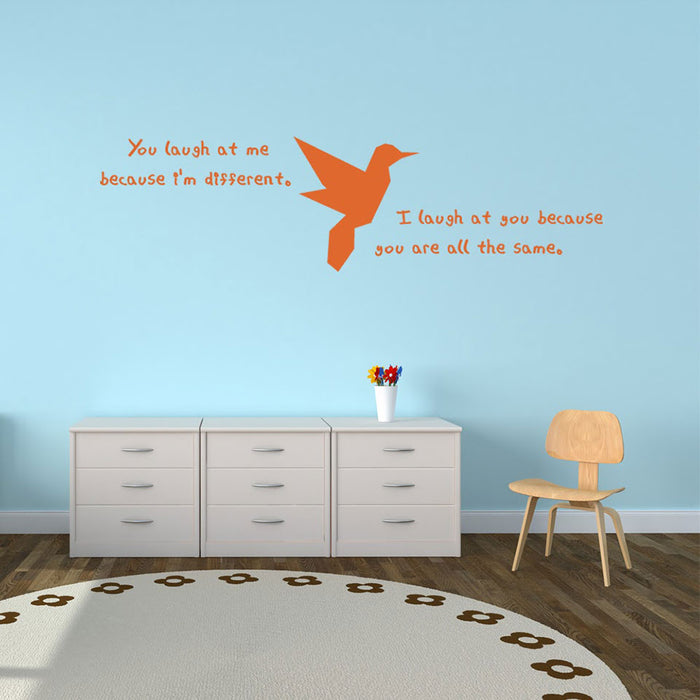 Different Wall Decal