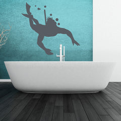 Diving-Wall Decal