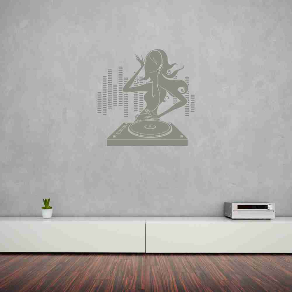 DJane Wall Decal-Wall Decals-Style and Apply