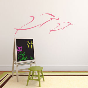 Dolphins-Wall Decal