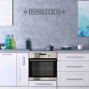 Domestico Wall Decal-Wall Decals-Style and Apply
