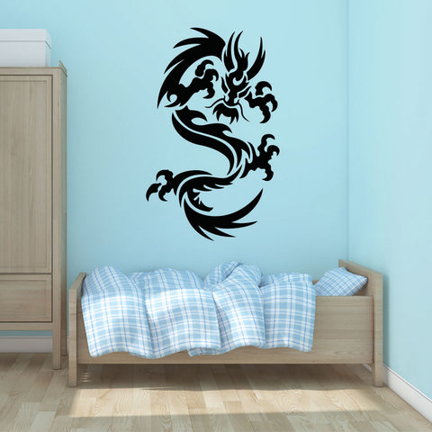 Dragon Ornament-Wall Decal
