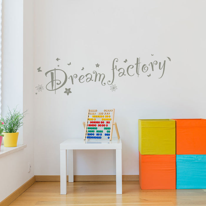 Dream Factory Wall Decal