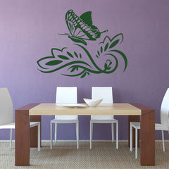 Dreaming Butterfly-Wall Decal