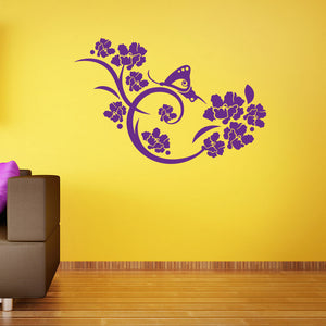 Dreaming Butterfly Wall Decal