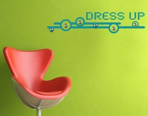 Dress up-Wall Decal Hangers-Style and Apply