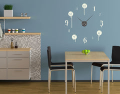 Drip Clock-Wall Decal Clocks-Style and Apply