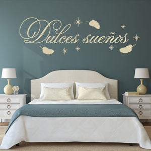 Dulces suenos Wall Decal
