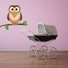 Eagle Owl-Wall Decal Stickers-Style and Apply