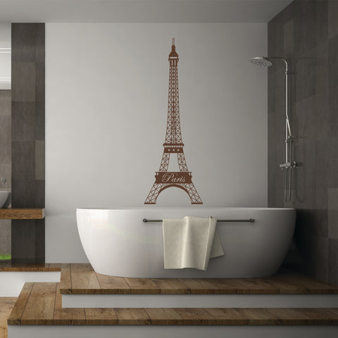 Eiffel Tower Decal-Wall Decals-Style and Apply
