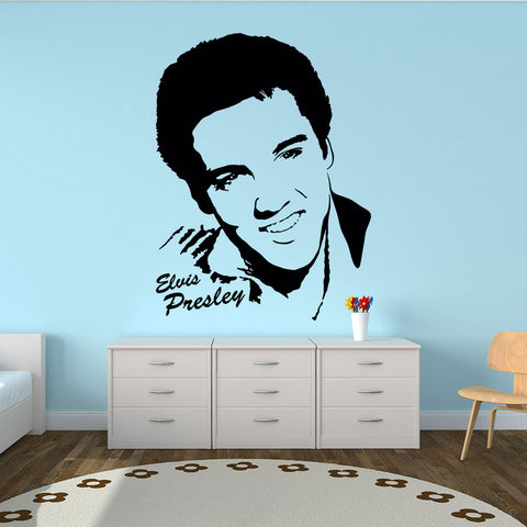 Elvis Presley-Wall Decal
