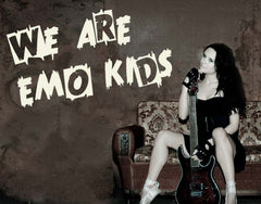 Emo Kids-Wall Decals-Style and Apply