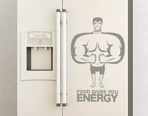 Energy Food-Wall Decals-Style and Apply