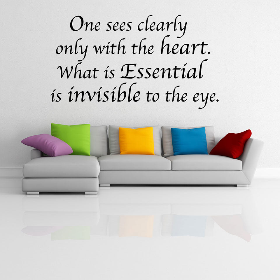 Essential Wall Decal quote