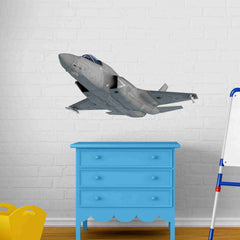 F-35 Fighter Jet Wall Stickers-Wall Stickers-Style and Apply