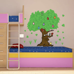 Fabulous Tree-Wall Decal Stickers-Style and Apply