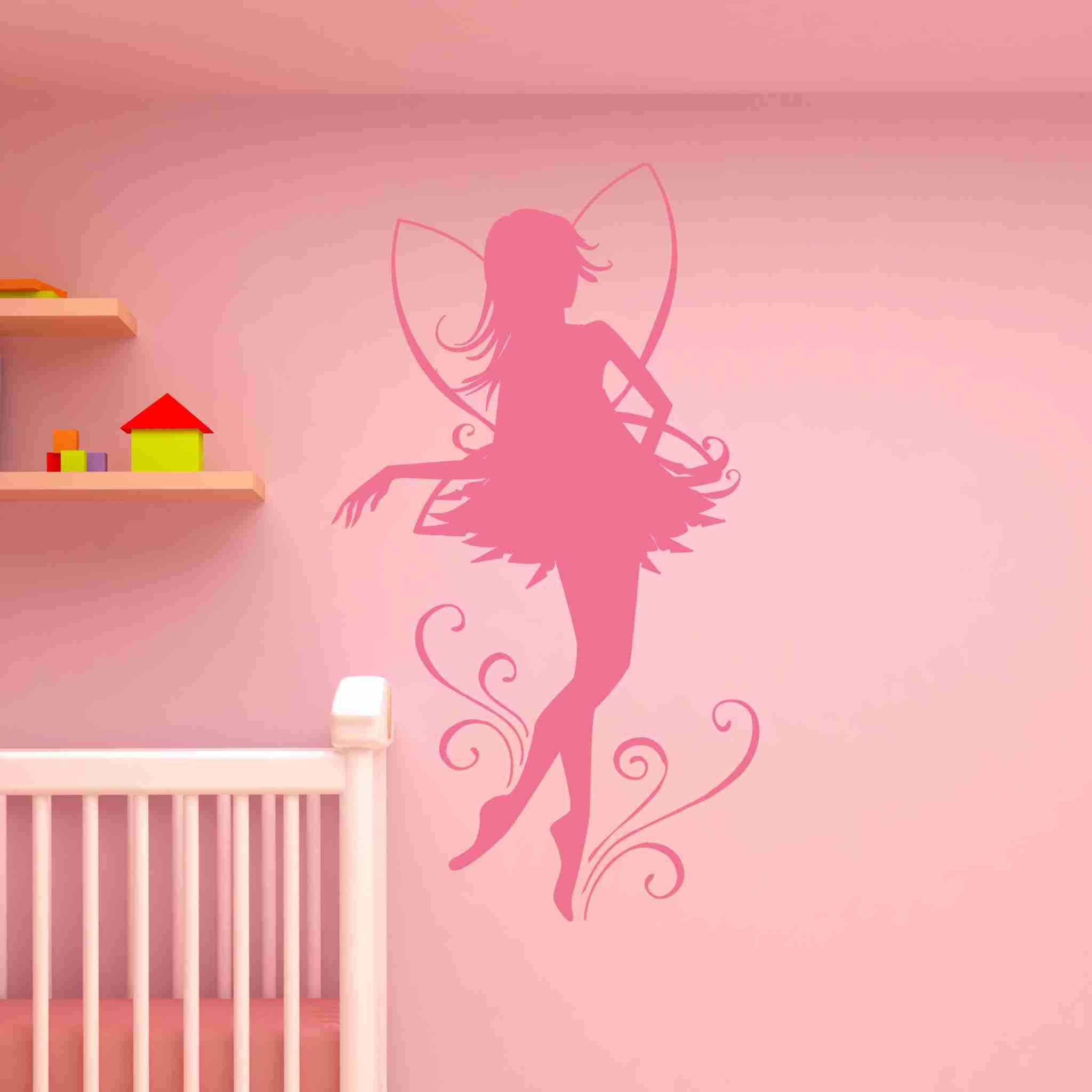 Charmant Fairy Dancer Wall Decals Wall Decals Style And Apply
